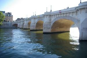 Pont Neuf et Quai de Seine - Paris - Maï Salaün