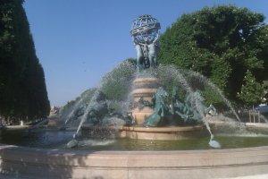 Fontaine de Benjamin Raspail Maï Salaün