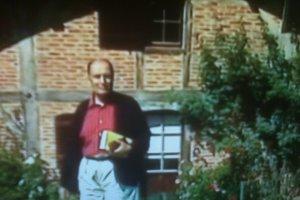 François Mitterrand en toute sérénité. Maï Salaün