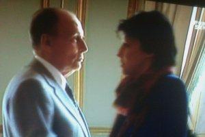 François Mitterrand et Martine Aubry