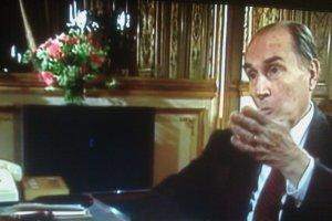 Mitterrand vous convainquant de ce qu'il faut croire. Maï Salaün